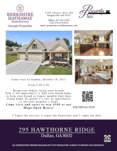 Open House Flyer_Hawthorne